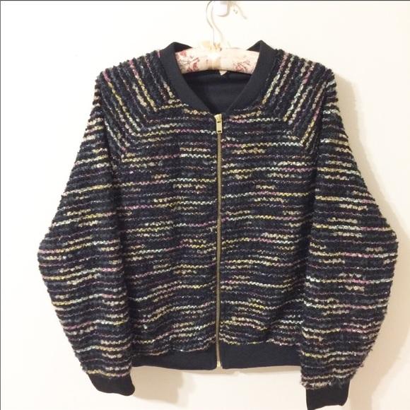 H&M Jackets & Blazers - H&M Glitter Bomber